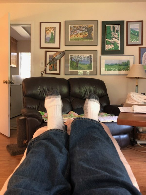 Day 4 - Elevated Feet