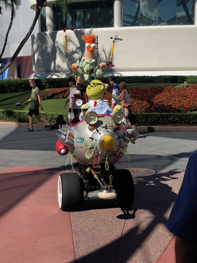 Muppet Labs vehicle at Epcot