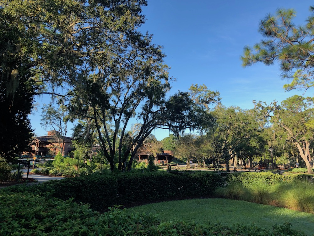 Nature scene at Fort Wilderness Campground
